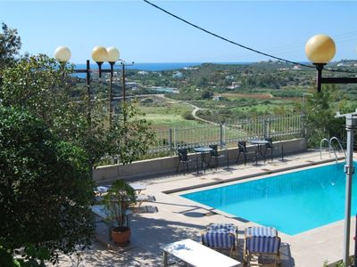 Photo for Villa With Private Pool And Amazing Sea View - Chrysiida Luxury Suites