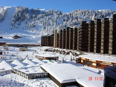 Photo for Apartment at the foot of the slopes in La Plagne - 2 room apartment for 5 people