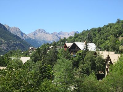 Photo for APARTMENT 2 TO 4 PEOPLE SERRE CHEVALIER 1350 M - BEAUTIFUL VIEW ON THE MOUNTAIN