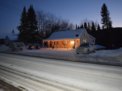 Photo for Cozy Cabin in Pittsburg NH Village - DIRECT SNOWMOBILE & ATV TRAIL ACCESS