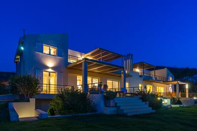 Both villas belong to us, and we make occasional weekend use of the second villa