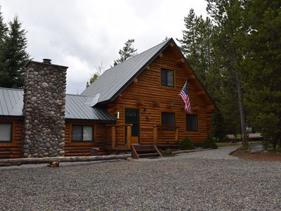 LAZY MOOSE CABIN⭐️FREE WIFI SATELLITE TV BBQ GRILL 35MIN TO YELLOWSTONE CLOSE TO IP RES.