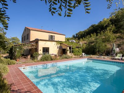 Photo for Large secluded Country House with Pool and Treehouse 30 minutes from the coast