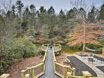 Photo for Unrivaled Luxury 'Blue Loon Lodge' on Toccoa River