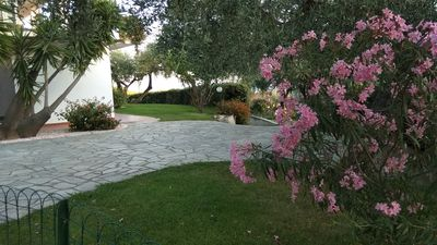 Photo for Apartment in detached villa 1km from the sea Diano Marina