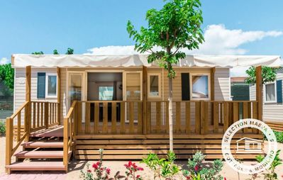 Photo for Camping Domaine les Charmilles **** - Maeva Camping - Mobile Home 4 Rooms 6/8 People