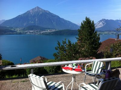 Photo for fully equipped chalet on a slope in a secluded location, facing south, panoramic views