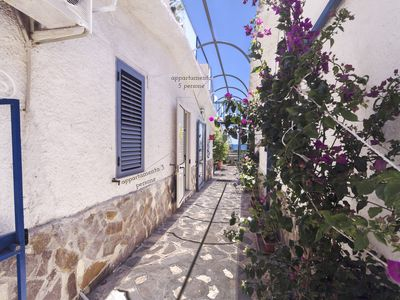 Photo for CapoVaticano Apartment with small garden for 3 people just 50 meters to the sea