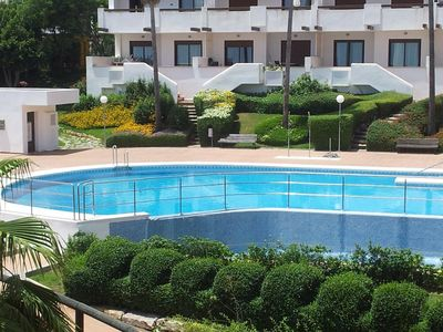 Photo for Flat with outstanding location, swimming pool and Golf course in Costa del Sol