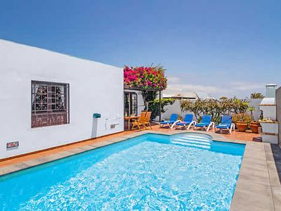 Photo for Villa Patricio is a lovely property located in the peaceful outskirts of Costa Teguise