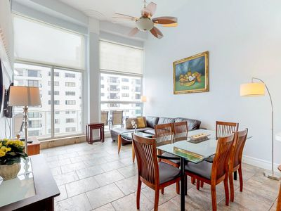 Photo for Spacious condo with resort amenities - including shared pool - and ocean views!