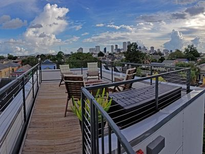 Photo for Rooftop Panoramic Experience near French Quarter w/ parking