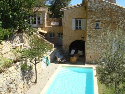 Photo for Provence near Avignon Rectory seventeenth century comfort and charm