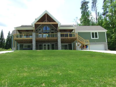 Lake Front side of house