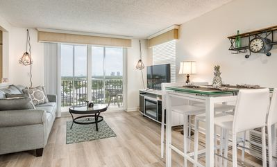 Photo for Renovated 1BR Condo w/ 2 Pools – Beach Access & Views