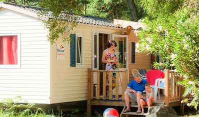 Photo for Camping Domaine de Gaujac *** - Villa 3 rooms 4/6 people