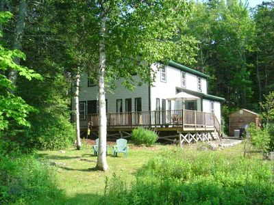 water & mountain views. close to Acadia Nat'l Park, 3 BR home . steps to shore