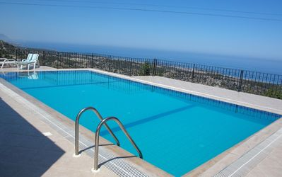 Photo for Private Pool and Stunning Mountain/Sea Views