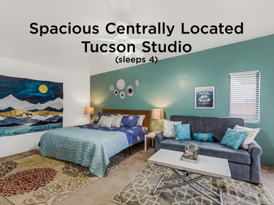Photo for NEW! Spacious Centrally Located Tucson Studio