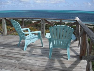 Spectacular ocean views from the front deck.