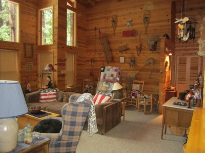 Photo for 2BR Cabin Vacation Rental in Camp Connell, California