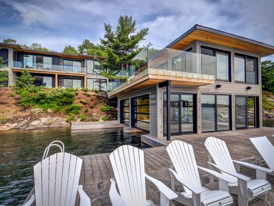 Photo for Driftwood - Modern Muskoka Luxury on Lake Joseph