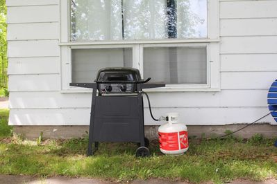 Barbecue provided for use for $10 + HST