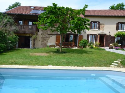Photo for Beautiful charming house with pool in the countryside
