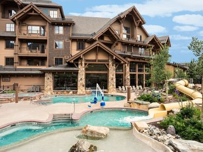 Photo for Need out of your house? Spend the week at Grand Lodge on Peak 7 - Sleeps 4