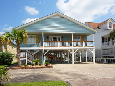 Photo for GRANDDADDY'S GIFT... a waterfront North Myrtle Beach vacation home near the beach