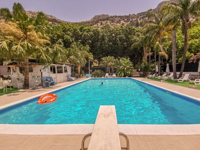 Photo for Apartment with pool in Mondello