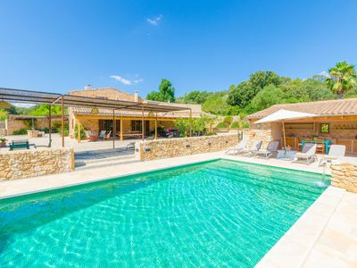 Photo for SA MATA GROSSA - Wonderful stone house with great BBQ area and private pool