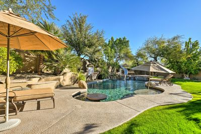 This private oasis awaits you in Scottsdale!
