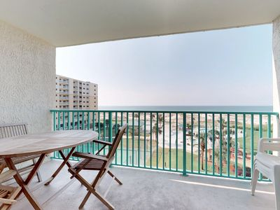 Photo for NEW! Plantation Palms waterfront condo w/ pool & hot tub -walk to the beach