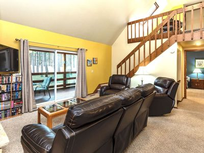 Photo for Indoor/outdoor pool/Christmas Mountian/Summer Fun/Spacious Townhome,WIFI & Amazon Firestick!