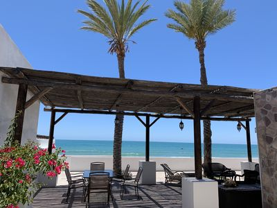 Photo for Vacation home w/Fantastic Patio on the beach at Kino Bay