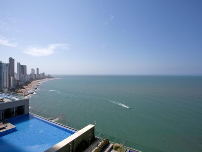 Photo for Apartamento frente al mar