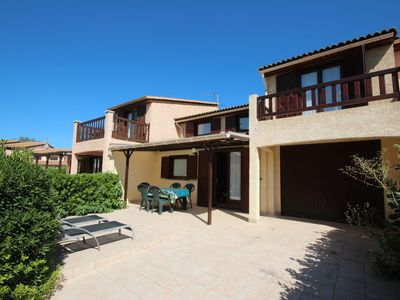 Photo for Villa with airco, 5 people, secured residence with pools, PORTIRAGNES PLAGE