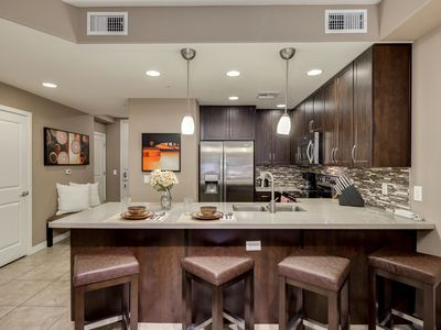 Photo for Courtyard View Top Floor Plus Amenities Galore at Desert Ridge! 30 Night Minimum Stay!