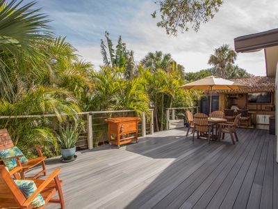 Photo for One-of-a-Kind Private, Secluded & Luxurious Tropical Paradise w/TIKI Bar