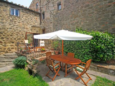 Photo for Apartment Taverna in Montecatini Val di Cecina - 4 persons, 2 bedrooms
