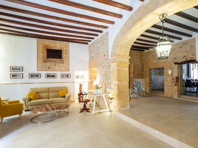Photo for Unique, stunning 6 bedroom villa in the heart of Pollensa Old Town