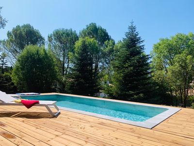 Photo for Villa with pool in Montferrier-sur-Lez