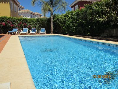 Photo for Spacious 3 Bedroom, Fully Detached Villa With Private Heated Swimming Pool