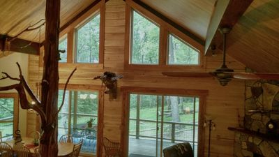 Photo for New Luxury Tree Chalet  near Dupont State Forest