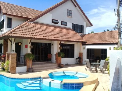 Photo for 4 Bedroom House & Private Pool - Pattaya