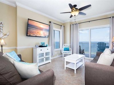 Photo for Tidewater 1201 | Corner Unit | Gulf Front | Liquid Life