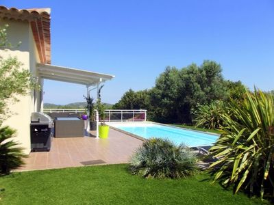Photo for New one storey villa in Bonificio with swimming-pool