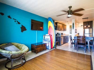 Photo for Modernized Beachfront Condo – Gem Nestled in Historic Haleiwa