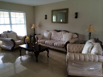 Photo for Affordable 3 Bedroom Home. Minutes from Orlando's Theme Parks